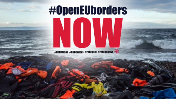 Open the EU's borders